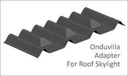 onduvilla roof skylight adapter