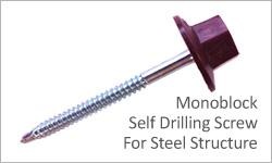 onduvilla monoblock drilling screw