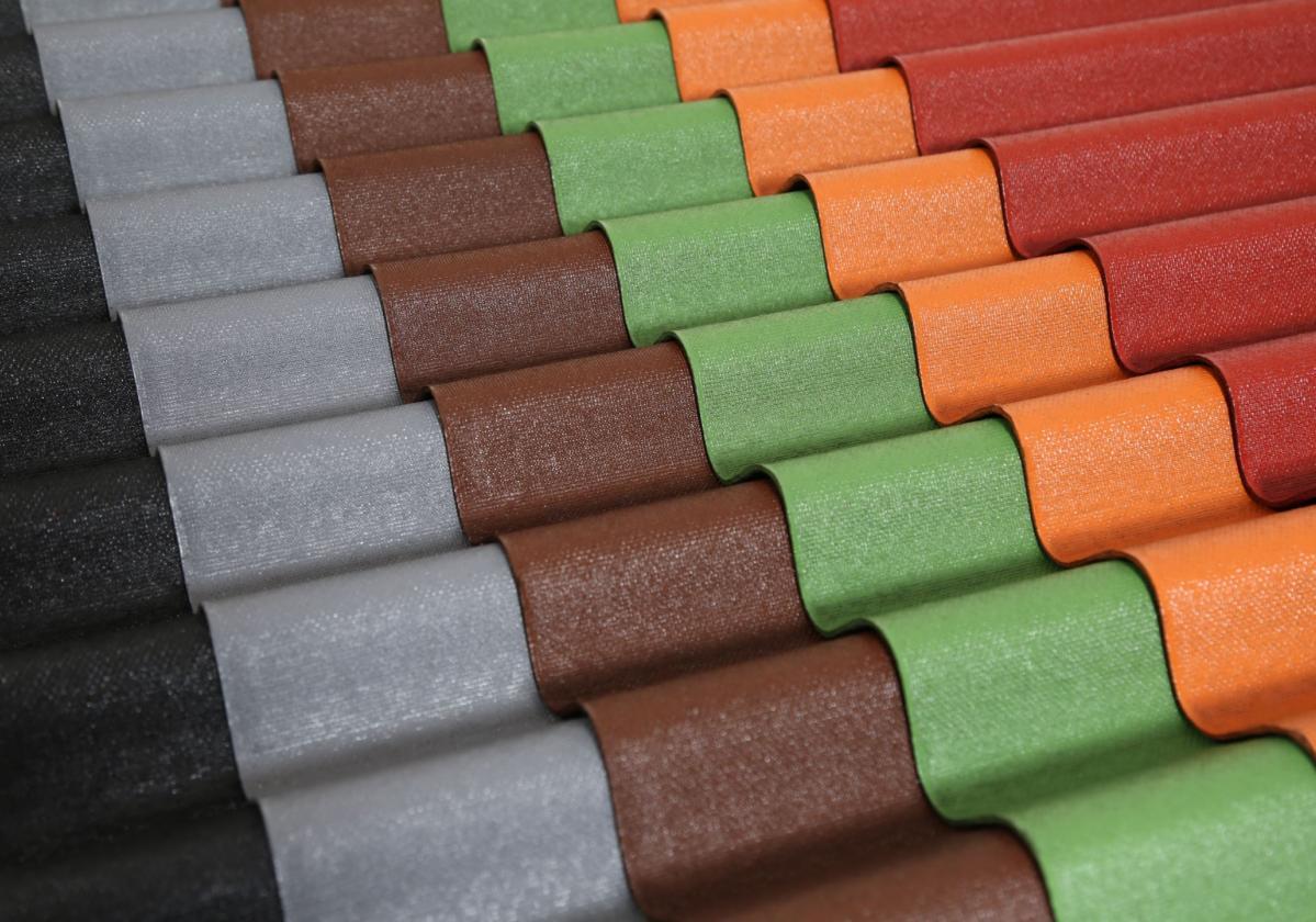 Range Onduline Easyline bitumen sheet