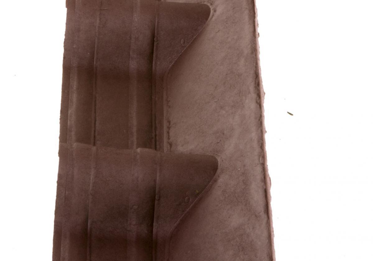 Apron Piece Onduvilla wall abutment Brown