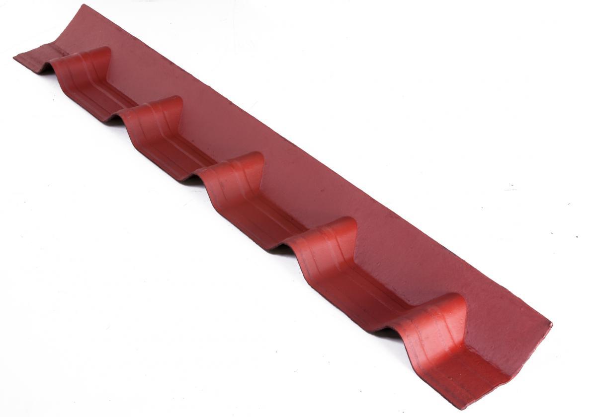 APRON PIECE for ONDUVILLA roofs l Classic Red