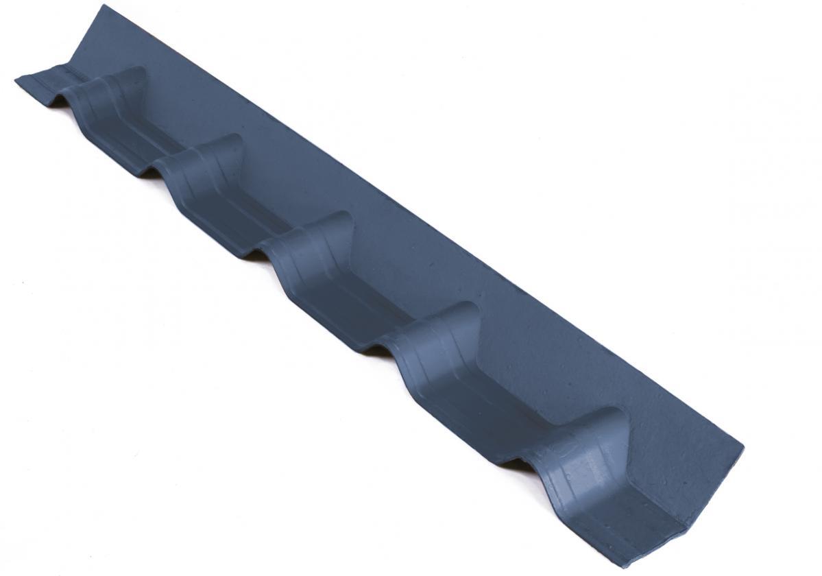 APRON PIECE for ONDUVILLA roofs l Slate Grey